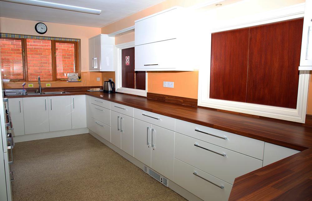Burcot Village Hall kitchen