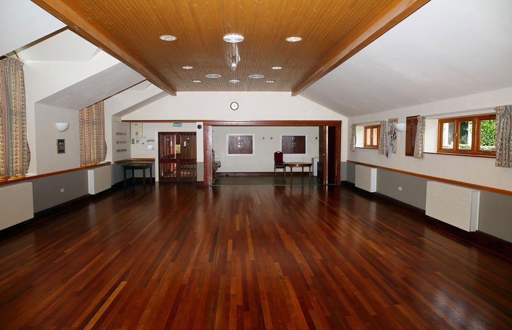 Main hall and meeting room at Burcot Village Hall